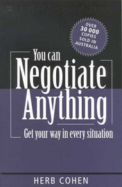 You Can Negotiate Anything by Herb Cohen image