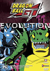 Dragon Ball GT Vol 11 - Evolution on DVD