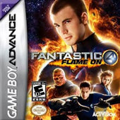 Fantastic Four Flame On for Game Boy Advance