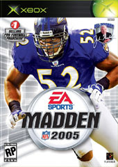 Madden 2005 for Xbox