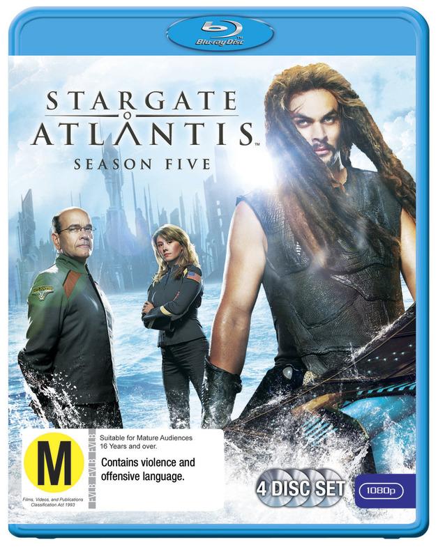 Stargate Atlantis - The Complete Fifth Season on Blu-ray