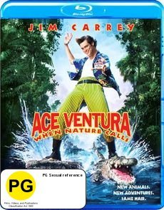 Ace Ventura: When Nature Calls on Blu-ray
