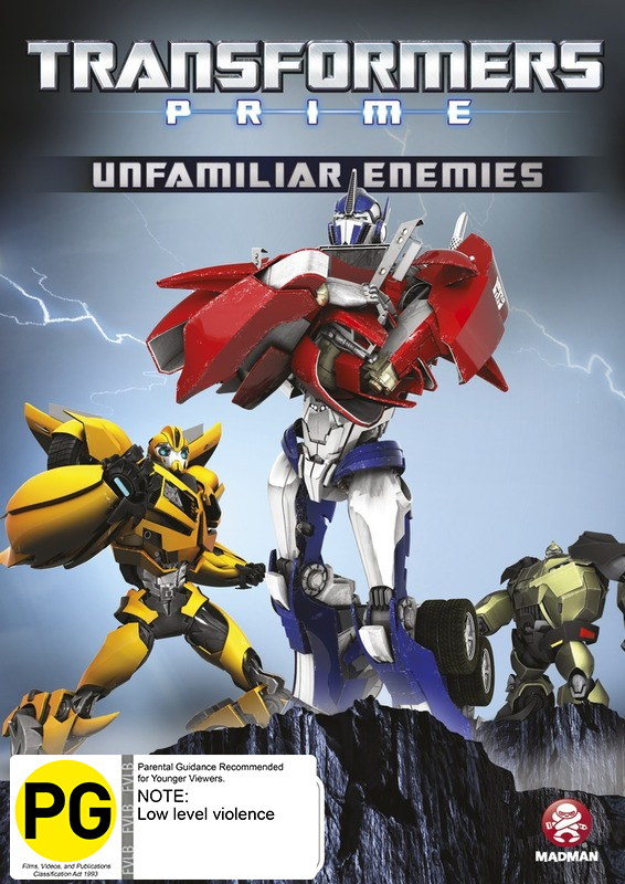 Transformers: Prime Volume 2 - Unfamiliar Enemies on DVD image