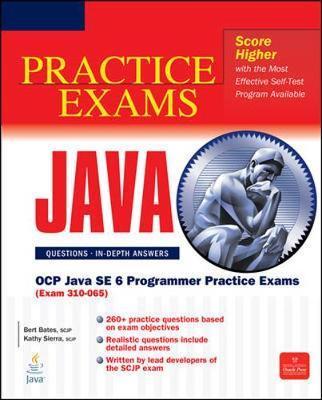 OCP Java SE 6 Programmer Practice Exams (Exam 310-065) by Bert Bates image
