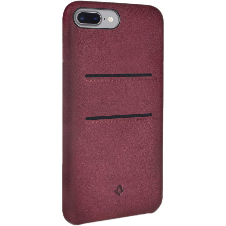 Twelve South Relaxed Leather case w/pockets for iPhone 7 Plus (Marsala) image