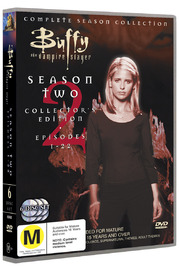 Buffy - The Vampire Slayer: Season 2 (6 Disc Set) on DVD