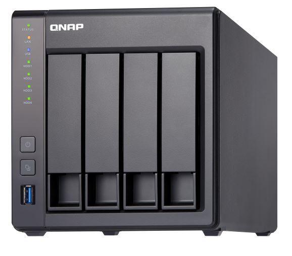 QNAP TS-431X2-2G NAS, 4BAY (NO DISK), 2GB, AL314 QC, GbE(2),10GbE SFP+(1), TWR, 2YR image