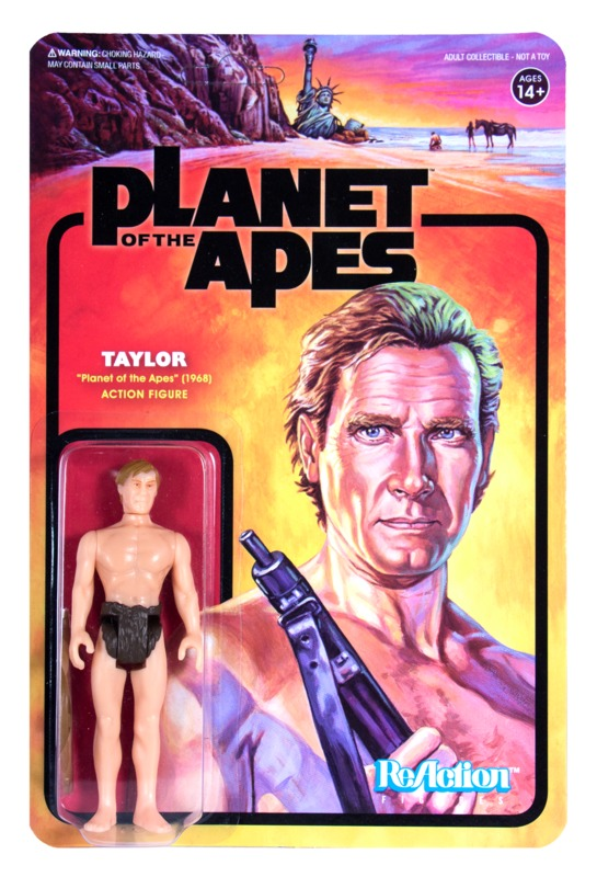 Planet of the Apes: Taylor - ReAction Figure
