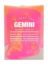 Whiskey River Co: Astrology Soap - Gemini