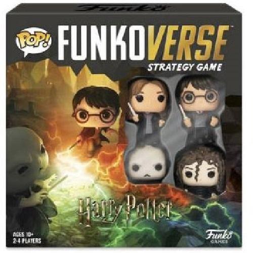 Funkoverse: Harry Potter Battle - Board Game (4-Pk)