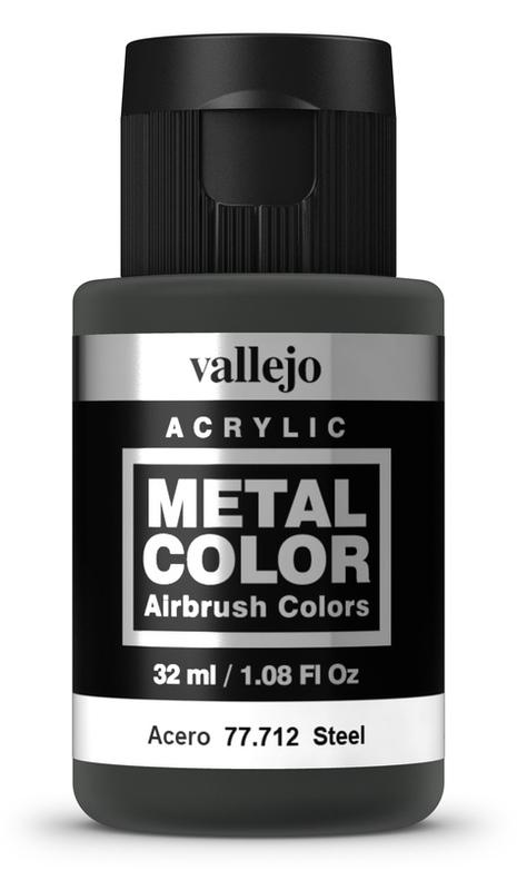 Vallejo: Metal Colour - Steel (32ml)