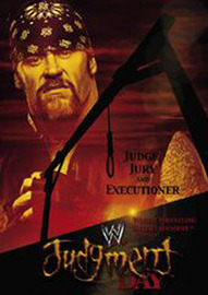 WWE - Judgment Day 2002 on DVD image