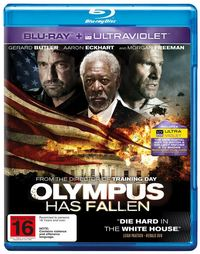 Olympus Has Fallen on Blu-ray