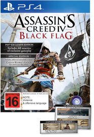 Assassin's Creed IV Black Flag Special Edition for PS4