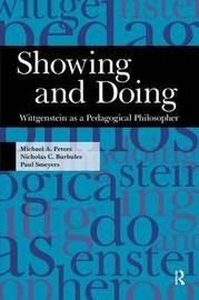 Showing and Doing by Michael A. Peters image
