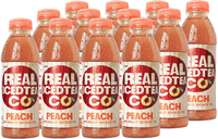Real Iced Tea Peach 500ml (12 Pack)