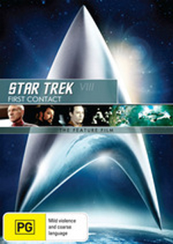Star Trek VIII: First Contact - The Feature Film on DVD image