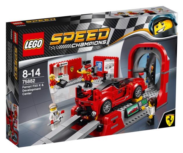 LEGO Speed Champions - Ferrari FXX K & Development Center (75882)