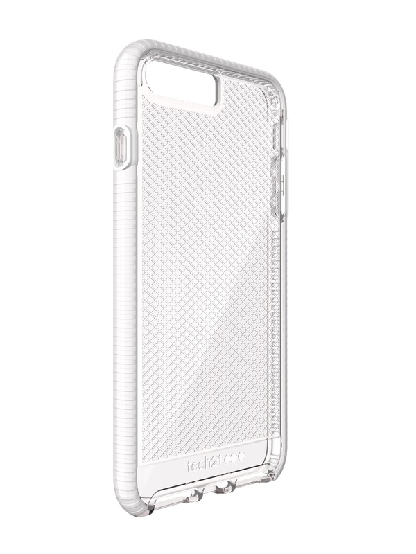 sports shoes f6299 e2b74 Tech 21 Evo Check for iPhone 7 Plus/8 Plus - Clear/White | at Mighty ...