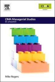 CIMA Managerial Studies by Mike Rogers image