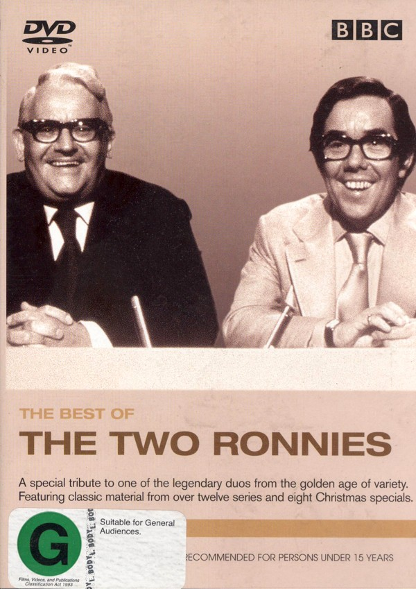 Best Of Two Ronnies - Volume 1 on DVD image