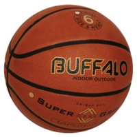 Buffalo Supergrip Brown Basketball (Size 5)
