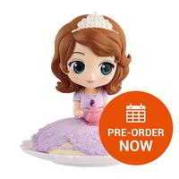 Q Posket Disney Character: Sofia - PVC Figure
