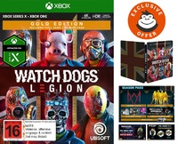 Watch Dogs Legion Gold Steelbook Edition for Xbox One