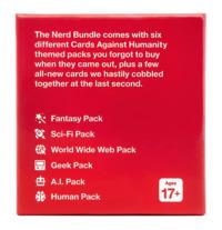 Cards Against Humanity - Nerd Bundle