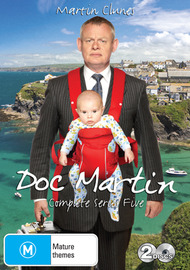 Doc Martin - Series 5 on DVD