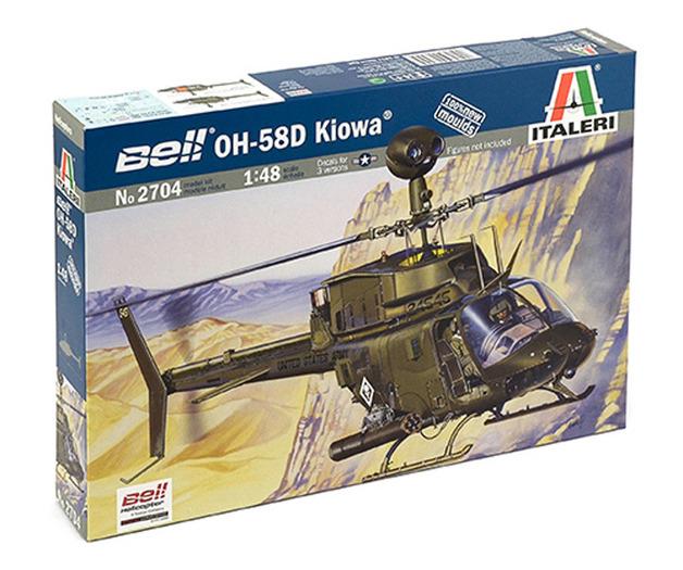 Italeri Bell OH-58D Kiowa 1:48 Model Kit
