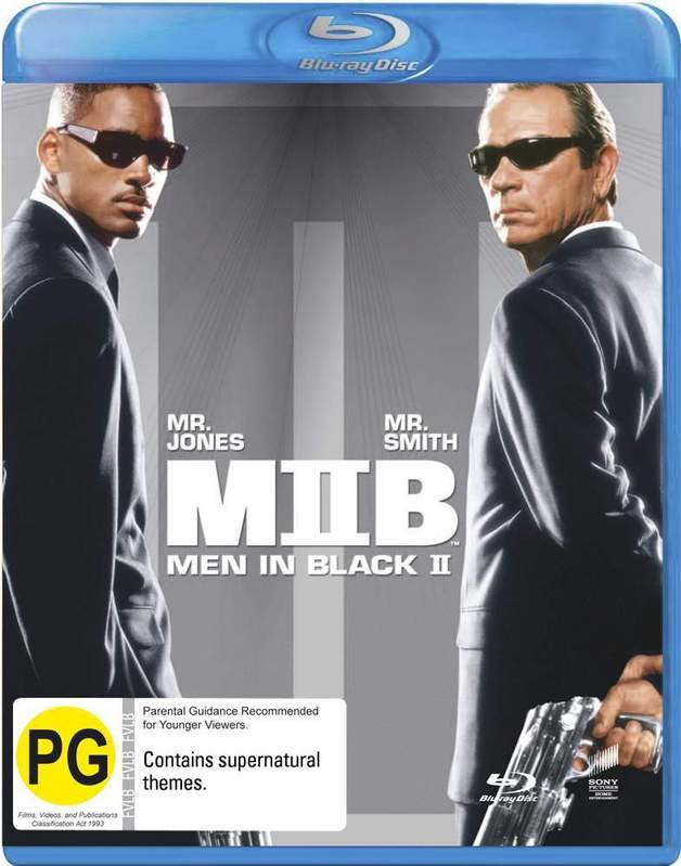 Men in Black II (New Packaging) on Blu-ray