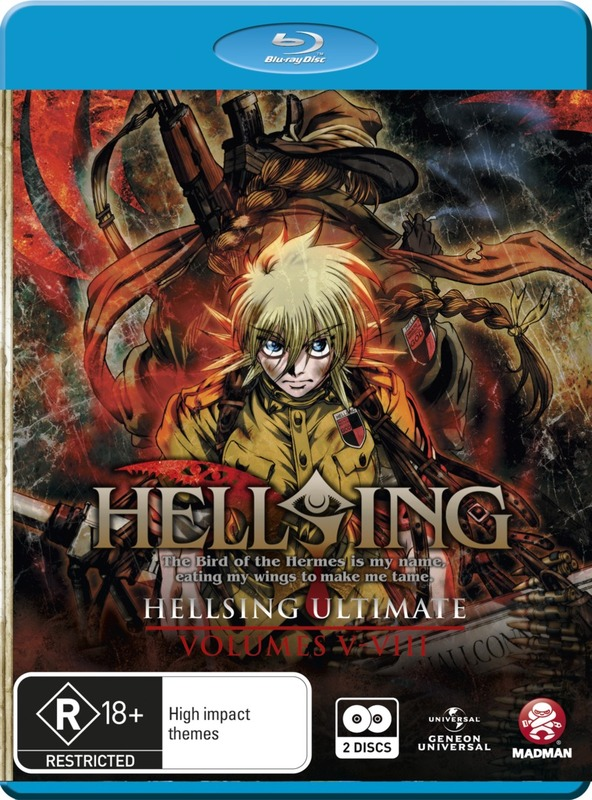 Hellsing Ultimate Collection 2 on Blu-ray