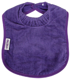 Silly Billyz Towel Large Bib (Purple)