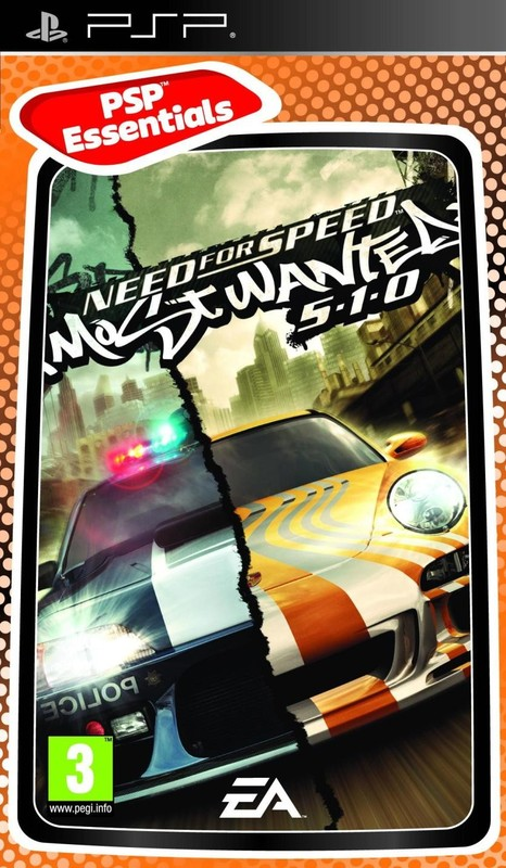 Need for Speed: Most Wanted for PSP