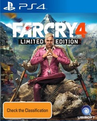 Far Cry 4 Limited Edition for PS4