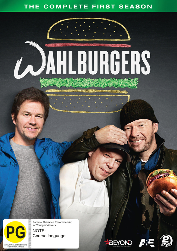 Wahlburgers - The Complete First Season on DVD