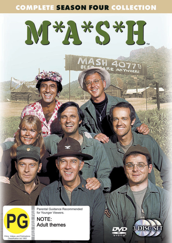 MASH - Complete Season 4 Collection (3 Disc Set) (New Packaging) on DVD