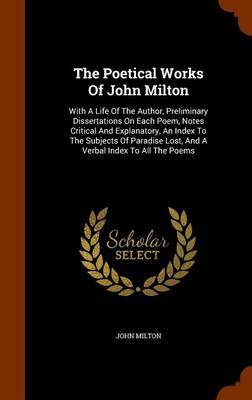 The Poetical Works of John Milton by John Milton image