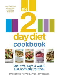 The 2-Day Diet Cookbook by Michelle Harvie