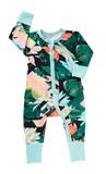 Bonds Zip Wondersuit Long Sleeve - Amazon Escape (Newborn)