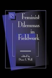 Feminist Dilemmas In Fieldwork image