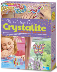 4M KidzMaker: Make Your Own - Crystalite Kit