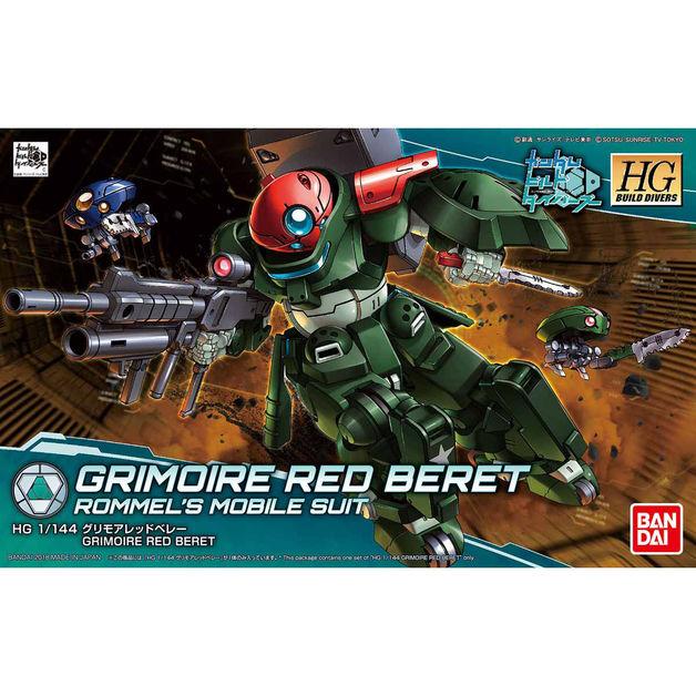 HGBD 1/144 Grimoire Red Beret - Model Kit