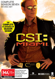 CSI - Miami: Complete Season 7 on DVD