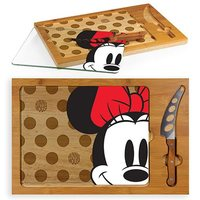 Minnie Mouse: Icon Glass Top Serving Tray and Knife Set