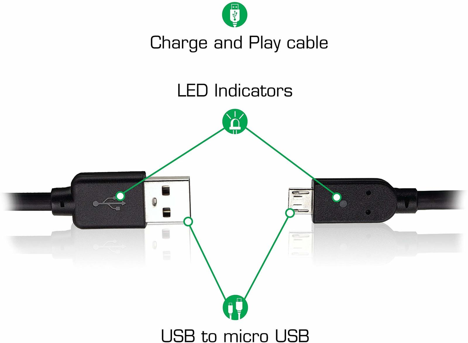 Nyko Xbox One Charge Cable for Xbox One image