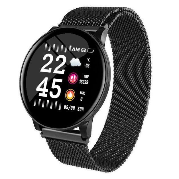 Ape Basics fitness tracker - Black Steel