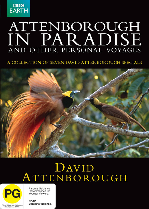 Attenborough In Paradise (2 Disc) on DVD