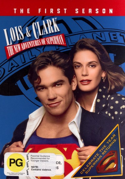 Lois & Clark: The New Adventures of Superman Season 1 (6 Disc Set) on DVD image